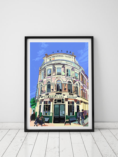 Commercial Tavern, Shoreditch, East London