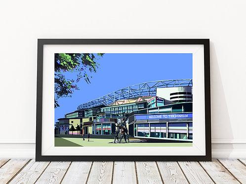 Twickenham Rugby Stadium,  South West London