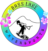 Bass Lake Watersports Pines Marina Hawaiin Logo 2018