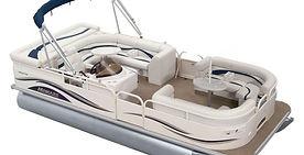 Patio Boat Pontoon Boat Bass Lake Boat Rentals Bass Lake California The Pines Marina Boat Rentals Elite Patio Boat