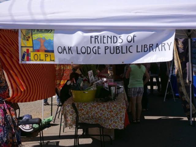 The Friends booth at the Trolley Trail Fest