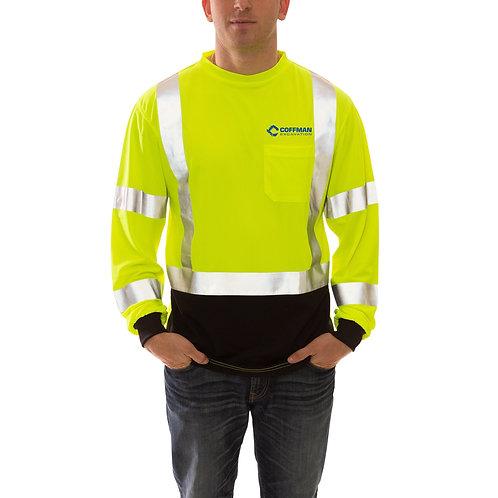 Tingley Job Sight Class 3 Black Front T-Shirt