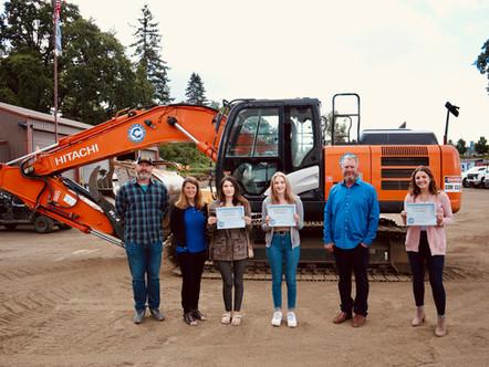 Coffman Excavation Educational Scholarship Recipients