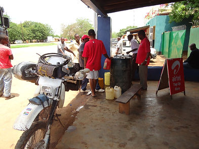 petrol_refill_of_motorcycle_zambia_afric