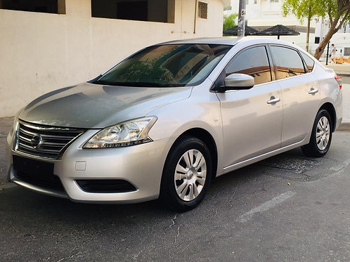 Nissan Sentra SV 2015 model mid option without any down payments