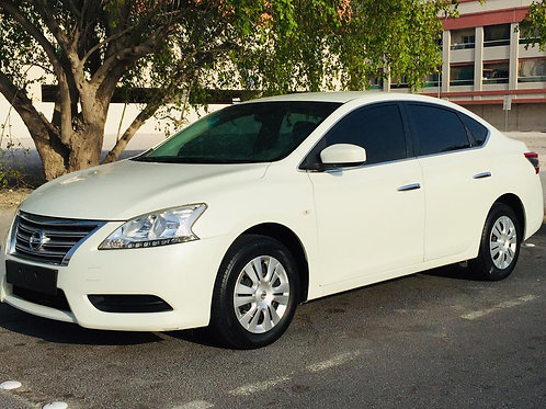 Nissan Sentra 2015 mid option with Navigation Reverse camera LCD touch screen