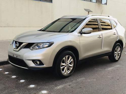 Nissan X-trail 2017 mid option 4wheel drive without any down payments