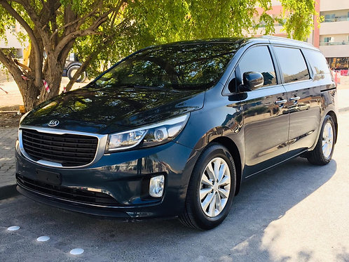 Kia carnival Grand 2016 with sun roof and moon roof in excellent condition
