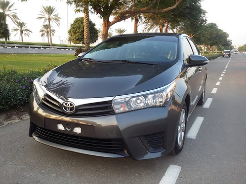 Toyota Corolla 2016 model 2.0L SE without any payment