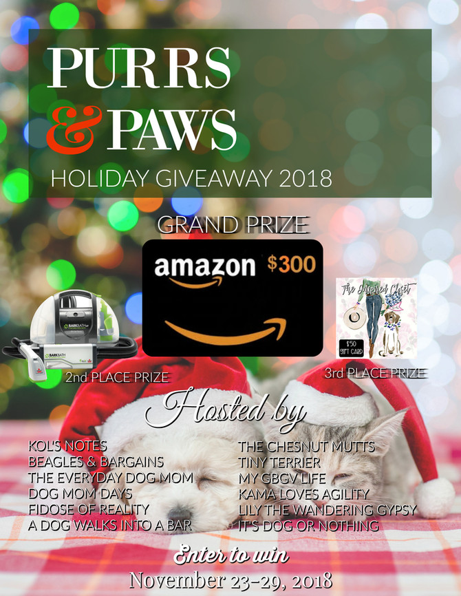 Purrs and Paws Holiday Giveaway