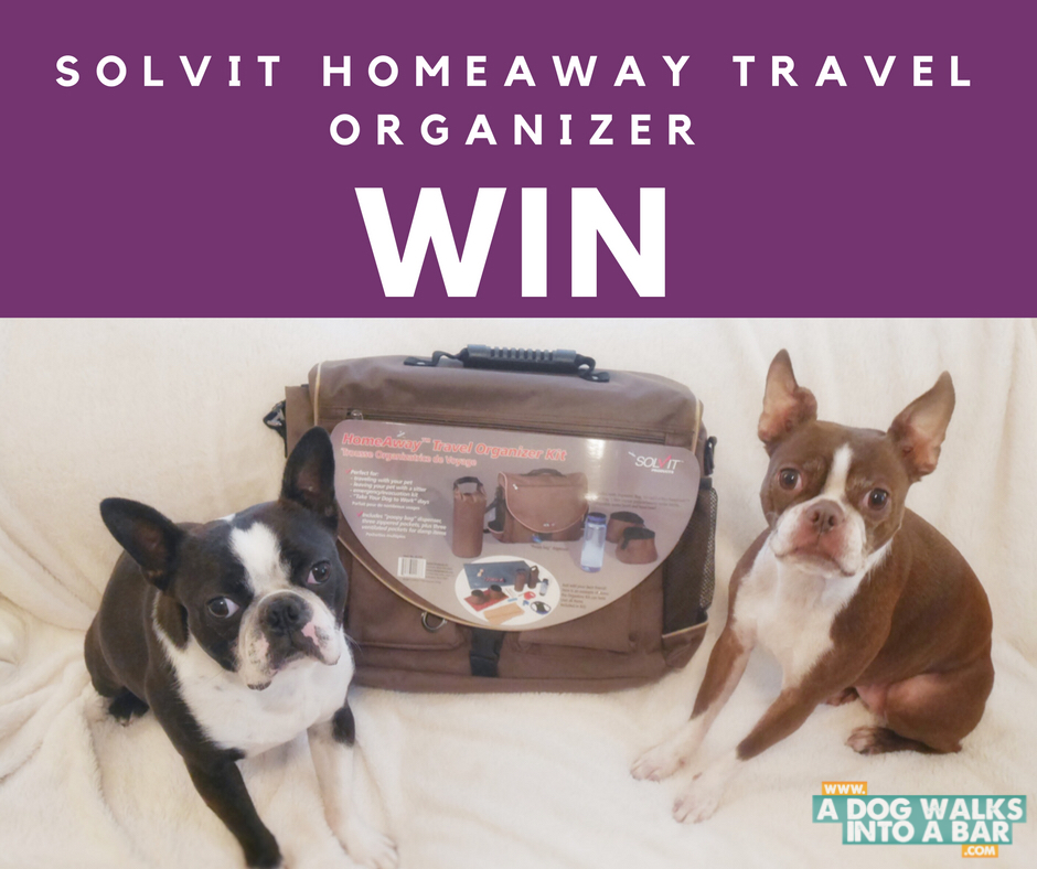 Enter to win a Solvit Homeaway travel organizer