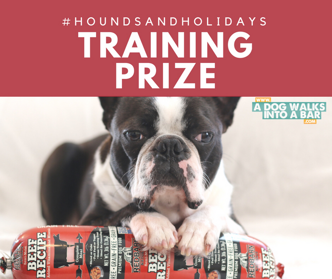 WIN Tools for Positive Dog Training #HoundsAndHolidays