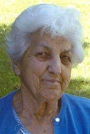 My grandmother with her sly grin