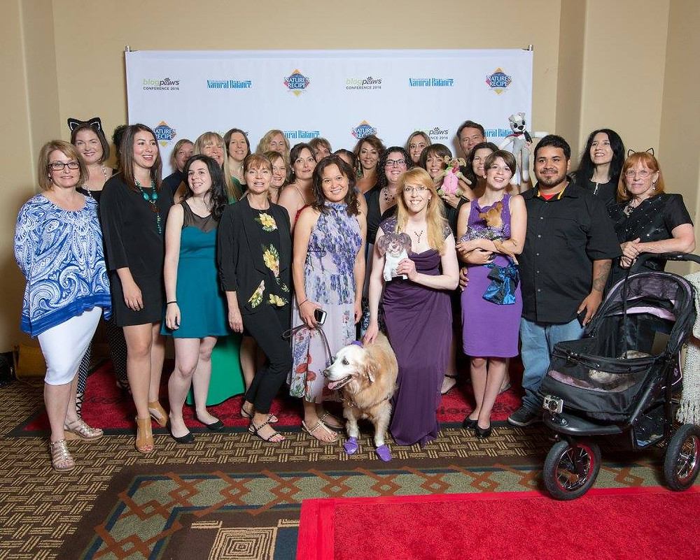 BlogPaws Nose to Nose Finalists (formal photo)