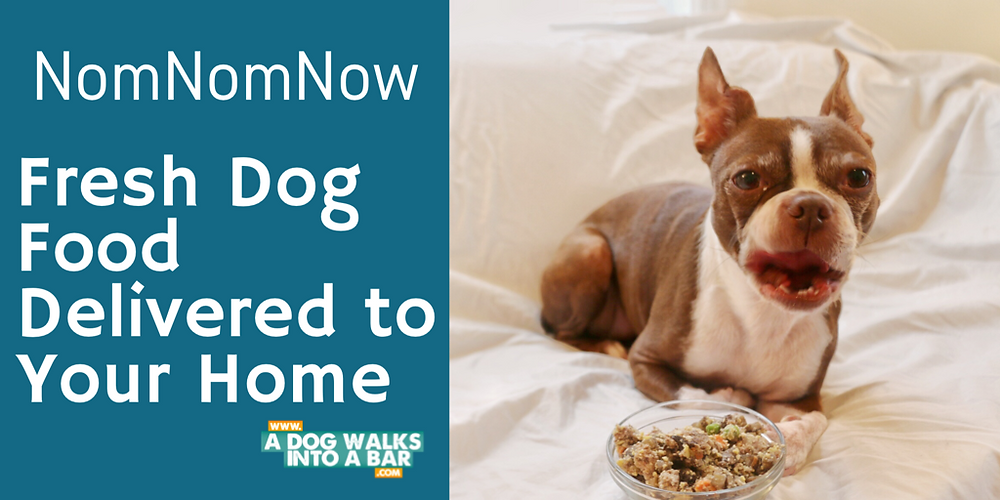 NomNomNow fresh dog food delivery