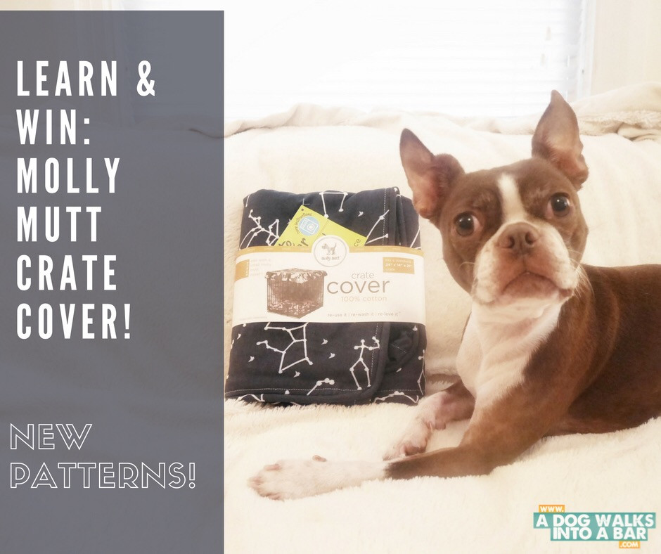 Enter to Win a Molly Mutt Crate Cover
