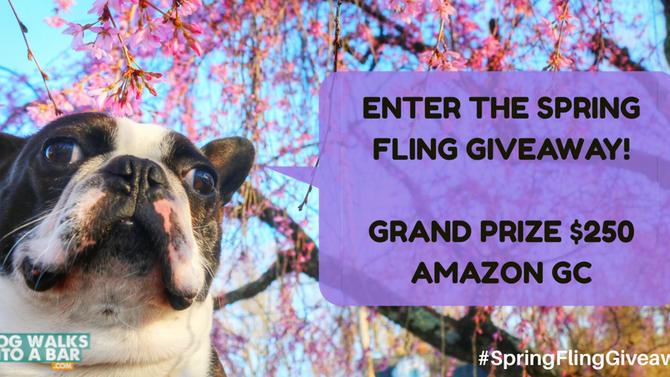 Spring Fling Pet Blogger Giveaway
