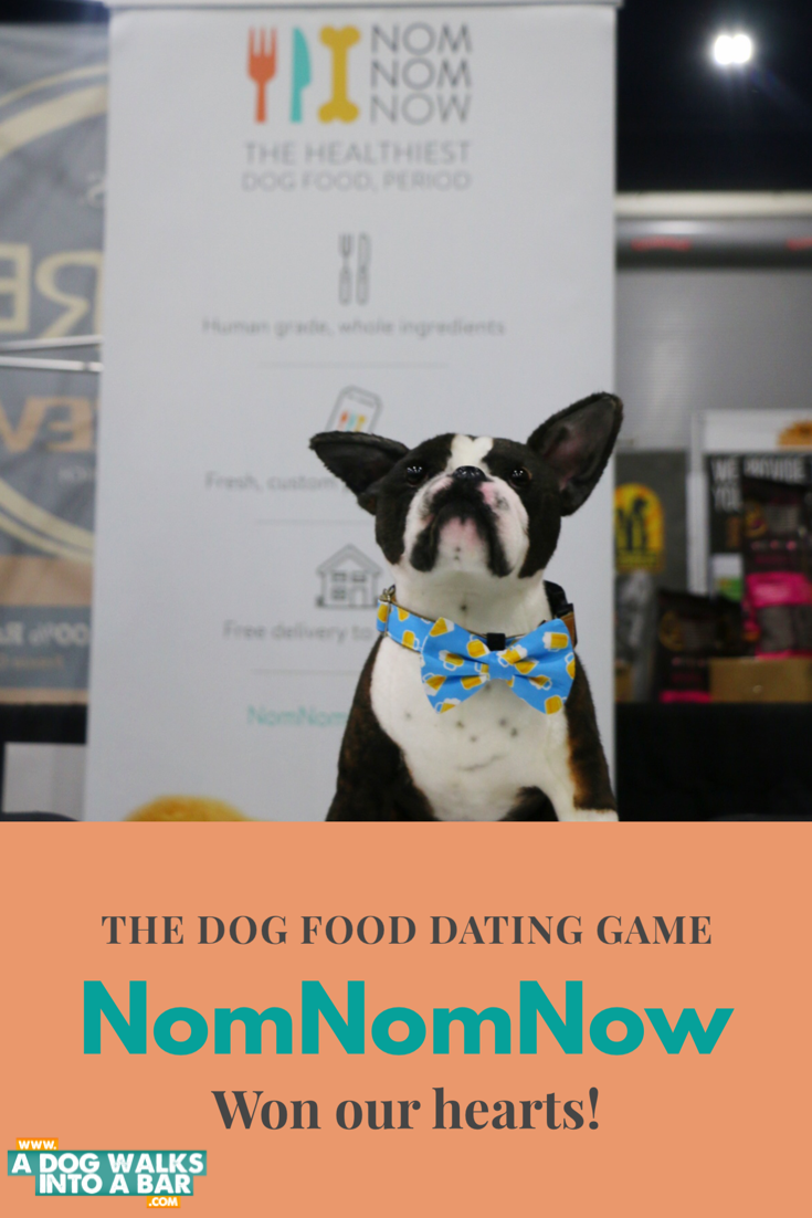 Yoda (the cuddle clone version) hanging out at the NomNomNow table at BlogPaws