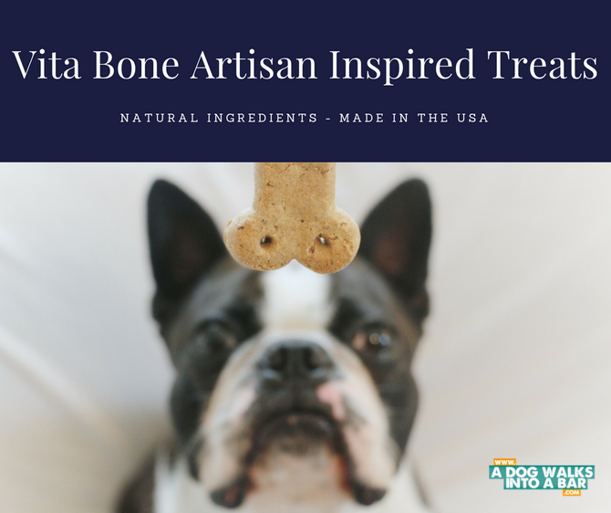 Why We Stopped to Smell the Vita Bone Artisan Inspired Treats