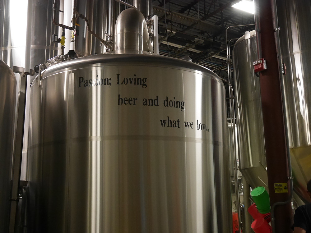 Passion: Loving Beer and doing what we love.