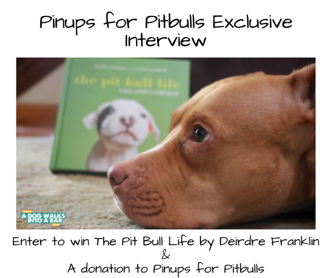 Exclusive Interview with Pinups for Pitbulls Founder - Win Copy of Her New Book and Donation to PFPB