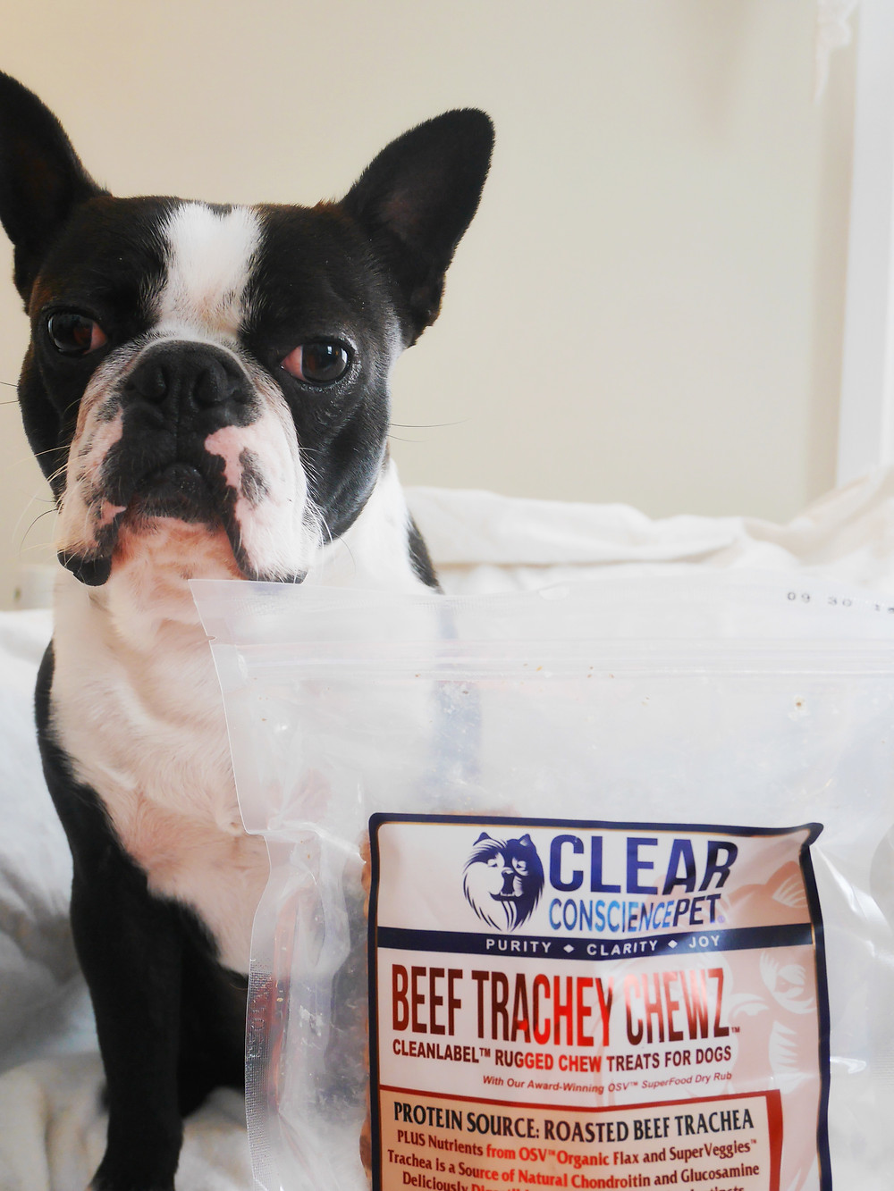 Yoda & Beef Trachey Chewz by Clear Conscience Pet