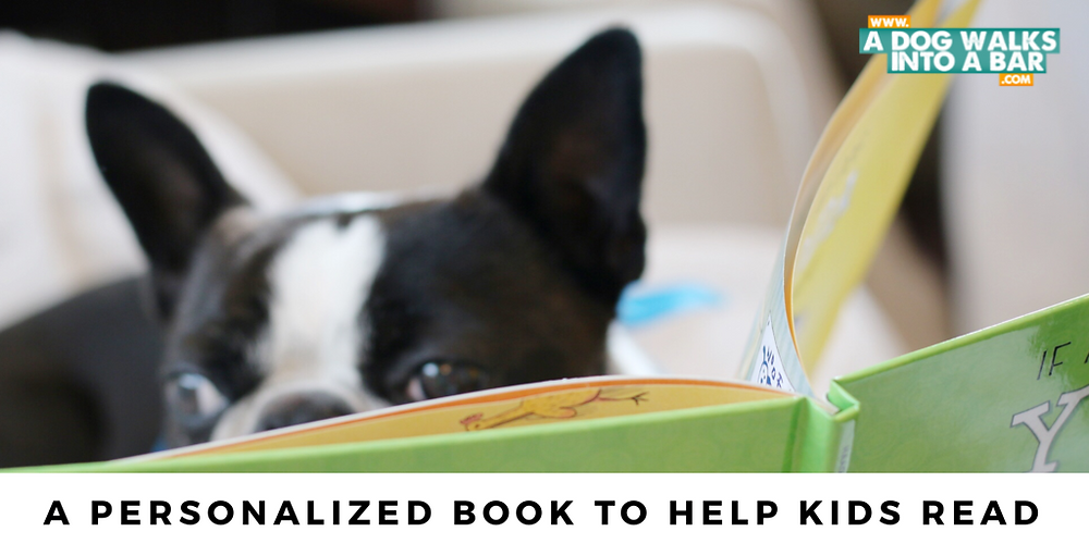 Yoda reading his personalized book