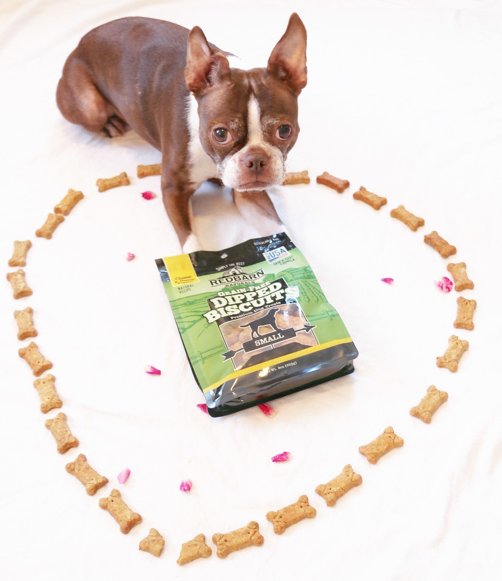 Bean hearts treats from RedBarn Pet Products