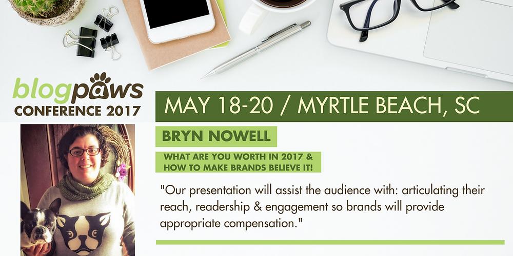 BlogPaws speaker at Myrtle Beach