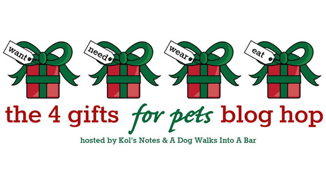 4 Gifts for Pets Holiday Guide and Giveaway