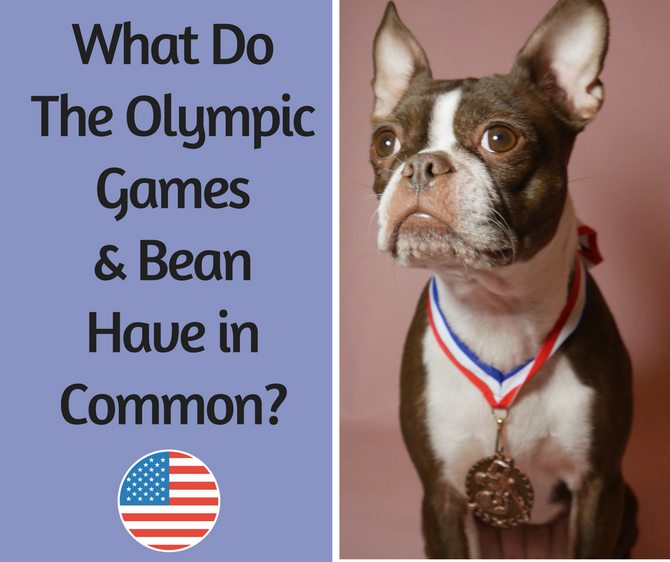 What do the Olympic Games and Bean Have in Common?