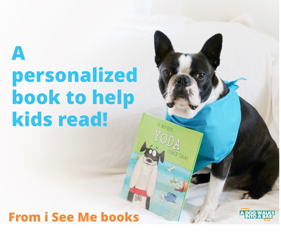 Yoda and a personalized book all about him
