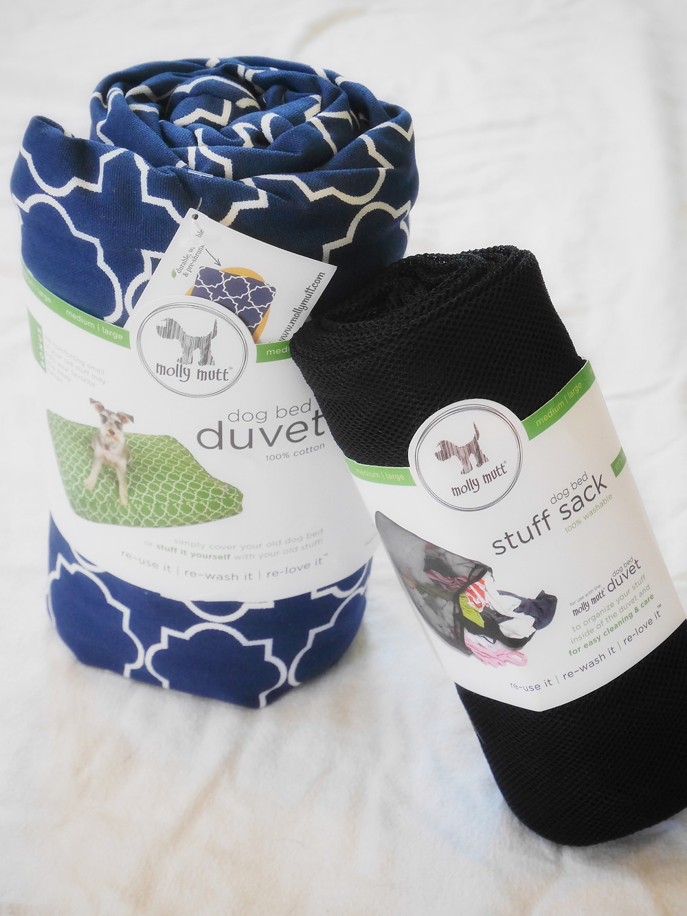 Molly Mutt Duvet in Romeo & Juliet with Stuff Sack