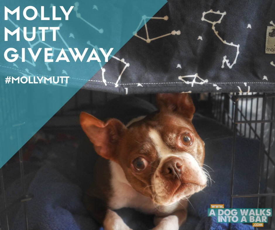 Molly Mutt Crate Cover Giveaway