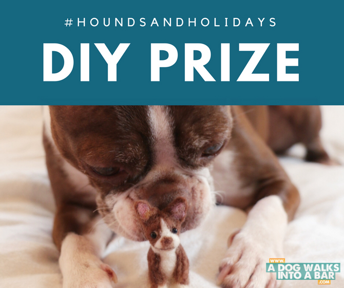 The DIY Part of #HoundsAndHolidays