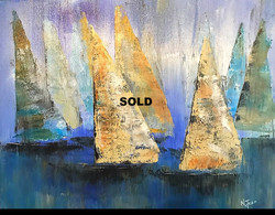 SOLD Let the Winds Carry Me