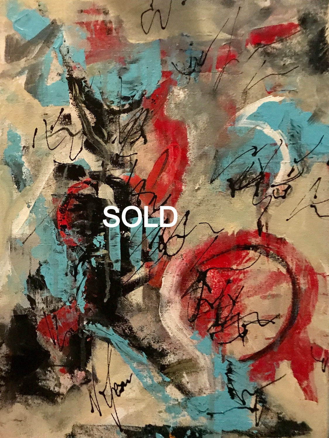 SOLD Abstract #2