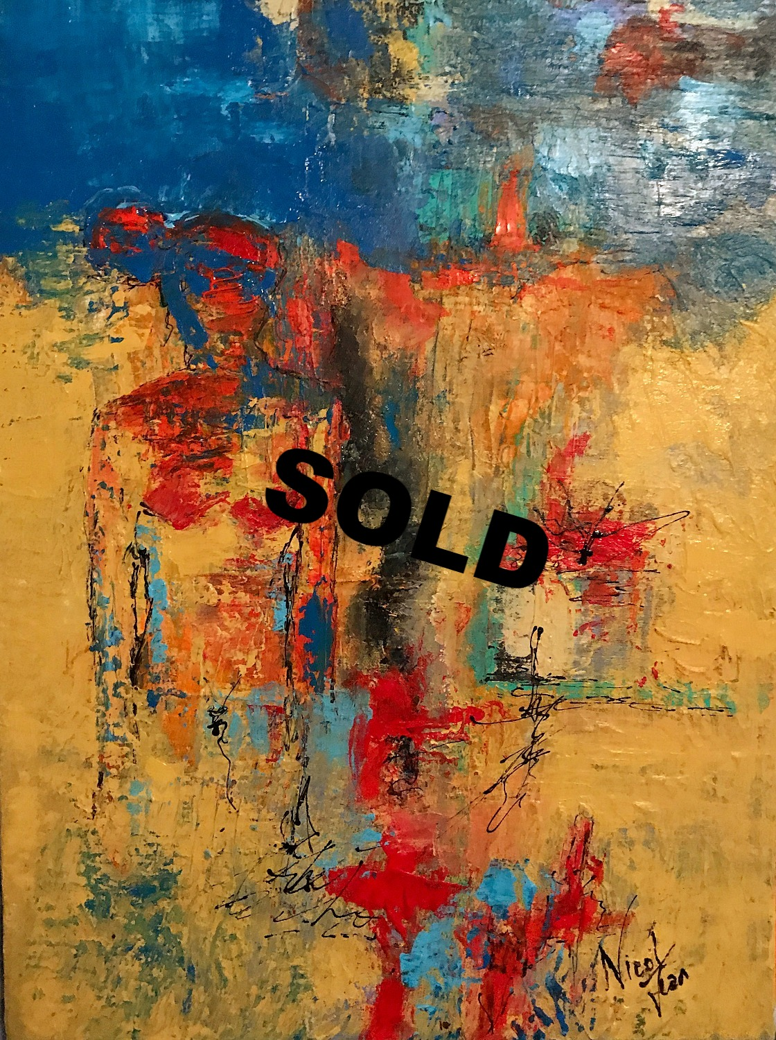 SOLD Camouflaged #51