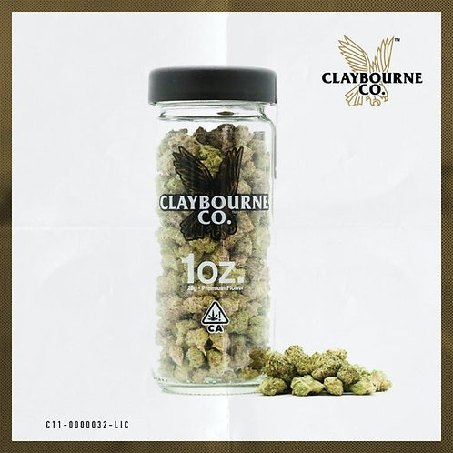 Claybourne - 1oz Flower (Multiple Strains)