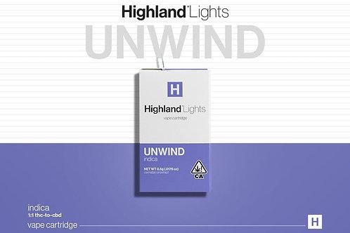 Highland Lights Vape Cartidge (0.5g) Multiple Strains