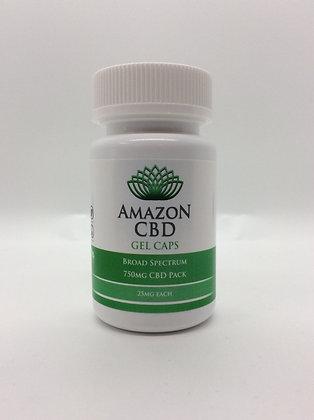 Amazon CBD Broad Spectrum Gel Caps
