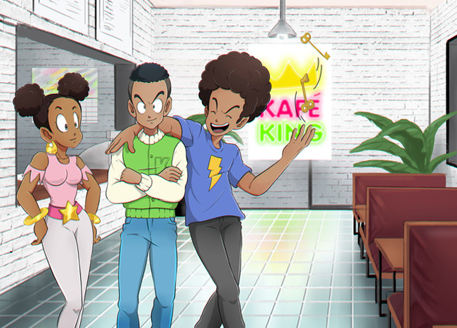 Kafe King Friends