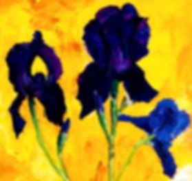Full bloom _ Oil _ Canvas _ 40 x 46 _ SOLD