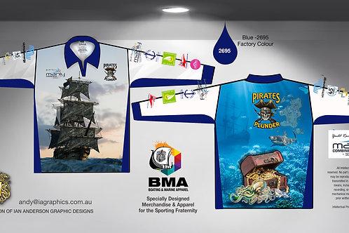 Pirates Plunder Shirts