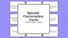 TARJETAS DE CONVERSACION CONDITIONAL TE