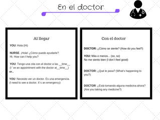En el doctor...