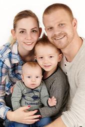 Mette, Jonas, Liam og Jamie Kofoed