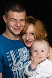 Paula, Konrad og Allan Sabat