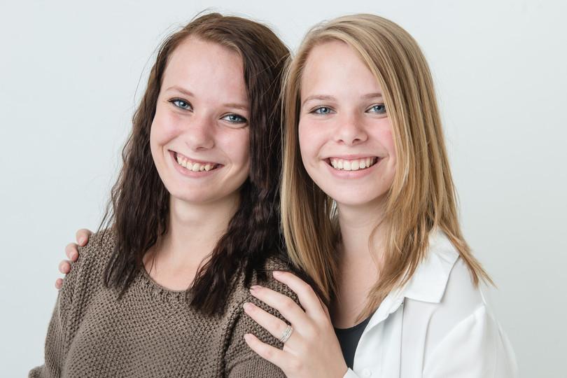Cecilie og Camilla Ebberup