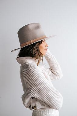 Felt hat for girls